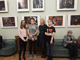 """Участники программы """"Школа жизни"""", посетили театр РАМТ"""