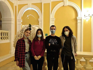 19 декабря ребята посетили театр РАМТ