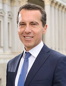 Former Chancellor of Austria, Christian Kern