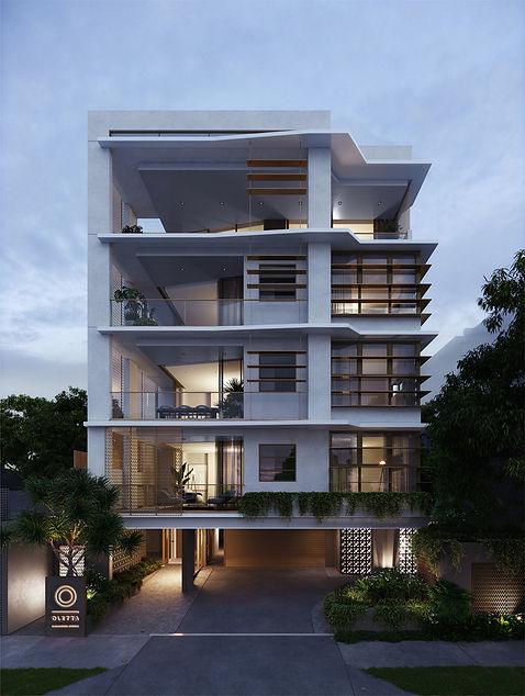 Oletta - 24 Maud Street Newstead North.  Architectural Elegance by HAL