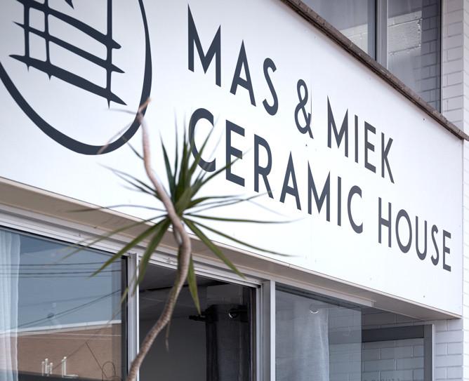 Mas & Miek Ceramic House, Newstead - Cafe and Ceramics