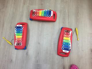 Hem descobert la nova aula de música!