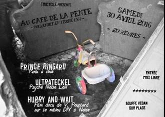 Soirée Tricycle /concerts au Café de la Pente
