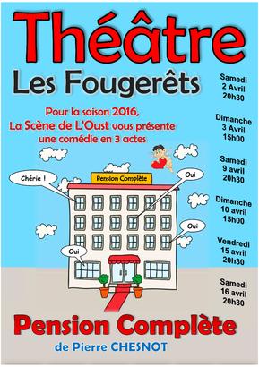 Théâtre aux Fougerêts