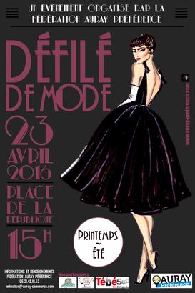 """Défilé de mode """"Printemps/Eté"""" - Auray"""