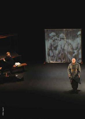 """""""Nous irons pleurer sur vos ombres"""" - Théâtre musical de Yann Fanch Quemener à Athéna"""