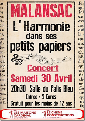 Concert Harmonie Fanfare de Malansac