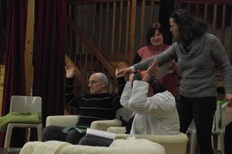Théâtre avec la troupe du Croisty à Gourin