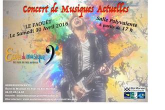 Concert de musiques actuelles au Faouët