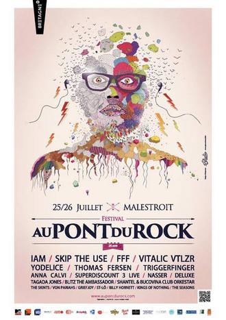 """Festival """"Au pont du rock"""""""