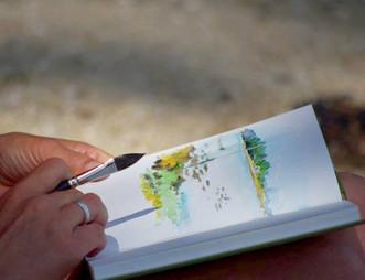 Ateliers & stages d'aquarelle à Damgan