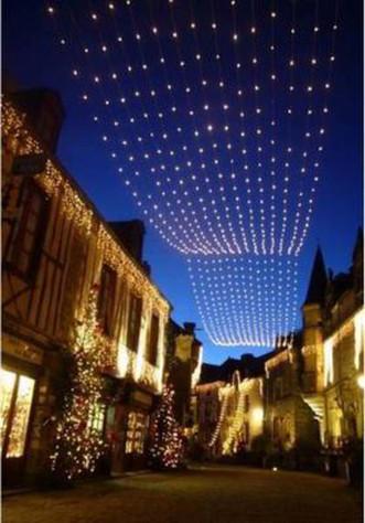 Illuminations de Noël à Rochefort-en-Terre