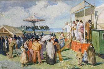 """Exposition """"La Fête vue par les peintres en Bretagne"""" au Musée du Faouët"""