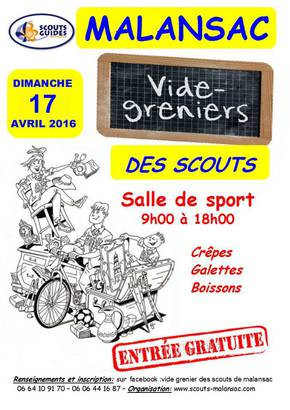 Vide greniers des Scouts de Malansac
