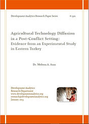 Agricultural Technology Diffusion in a P