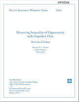 Measuring Inequality of Opportunity with