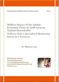 Welfare Impact of the Global Economic Cr