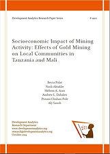 Socioeconomic Impact of Mining Activity