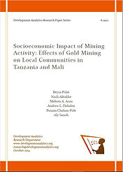 Socioeconomic Impact of Mining Activity