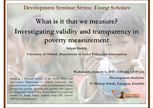 Development Seminar Series - Young Schol
