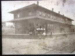 WIMHPG railroad depot in Potlatch, Idaho