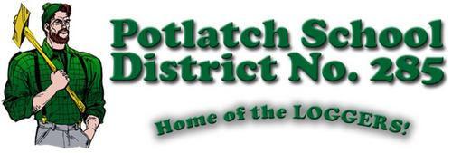Potlatch School District No. 285 logo