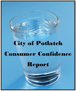 Glass of water Potlatch Consumer Confidence Report