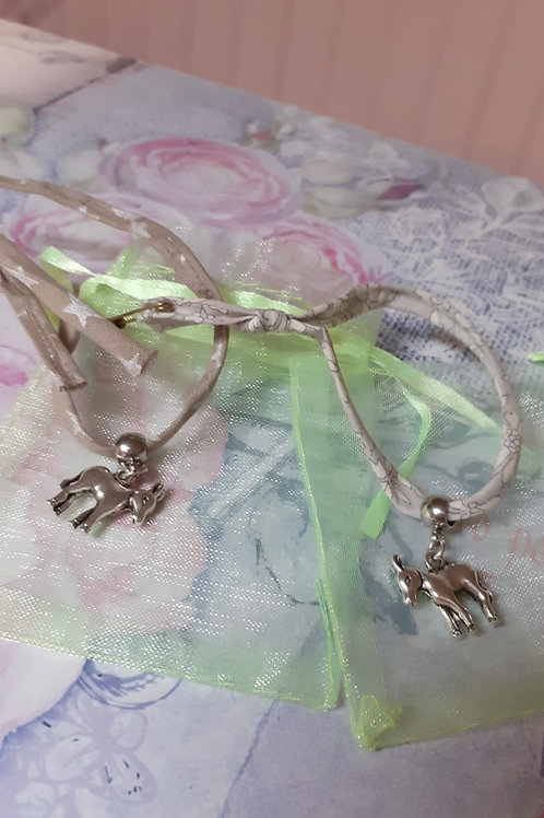 Bracelet âne marron