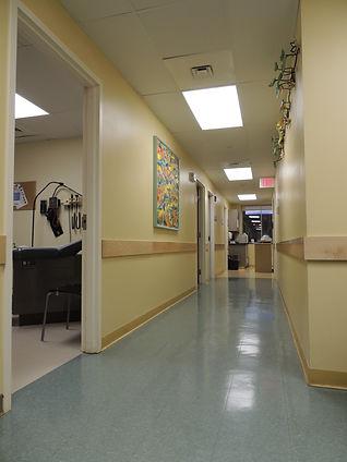 3rd Floor Clinic Hallway Towards Buildin
