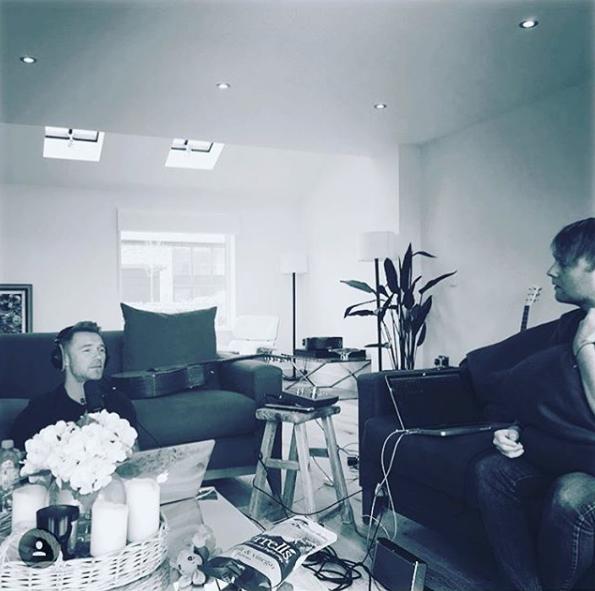 Ronan Keating Writing Session