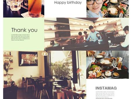 日誌|耶!生日快樂!