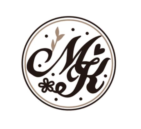 ☛ 婚禮設計|M & K 婚禮LOGO