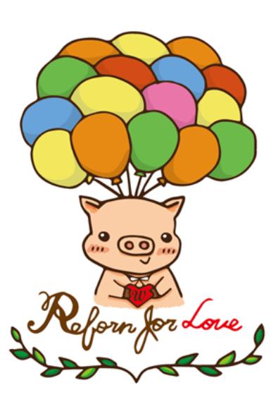 ☛ 插畫設計|Reborn for Love