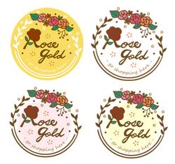 ☛ LOGO設計 Rose Gold