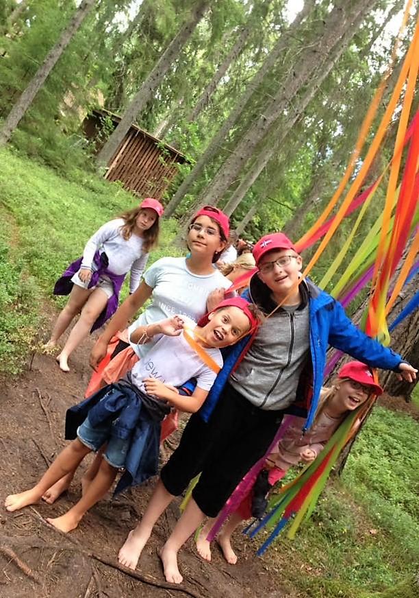 Экскурсия в летнем лагере