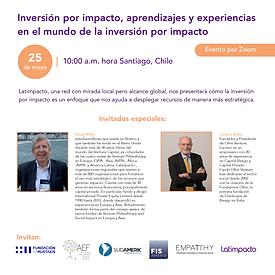 Inversión por impacto: Aprendizajes y experiencias  en el mundo de la inversión por impacto
