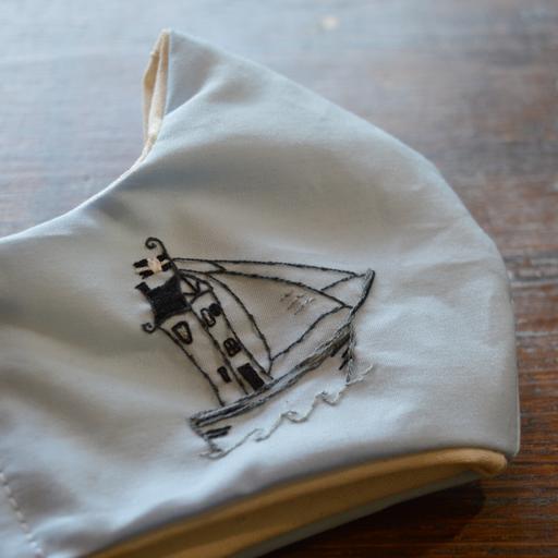 boathouse boat mask