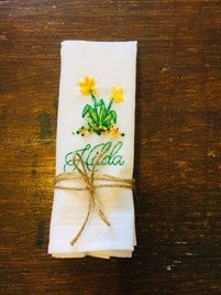 Personalised Hankerchief Commission