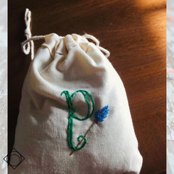 Personalised Lavender and Camomile Bag