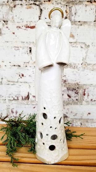 Tall Tealight Angel
