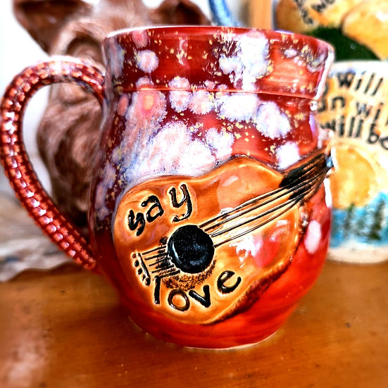 Avett Say Love Mug