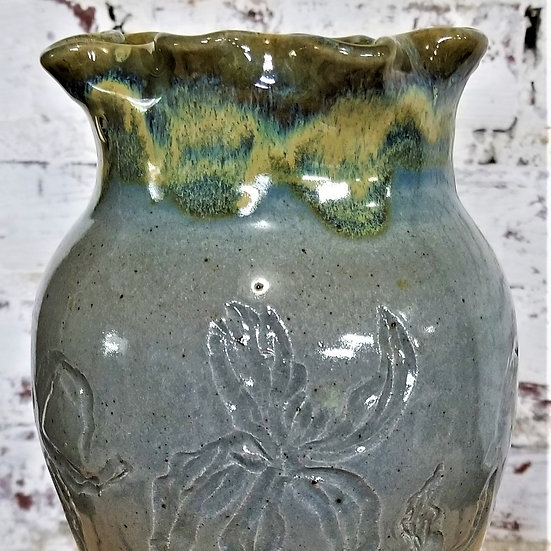 B Taft Iris Vase