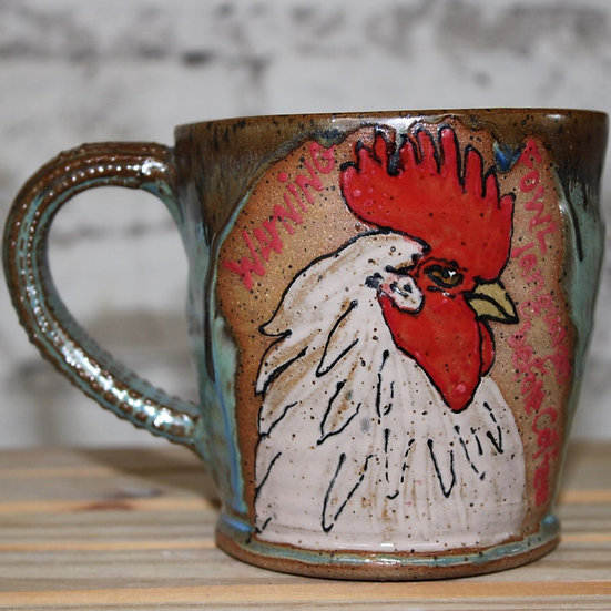 """Fowl""Language Before Coffee Mug"