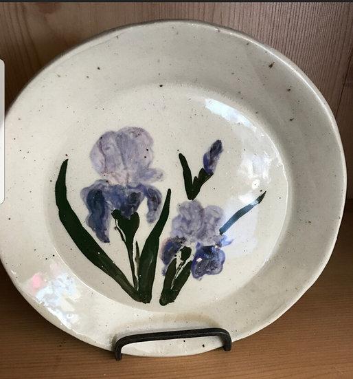 K Ruff Iris Plate