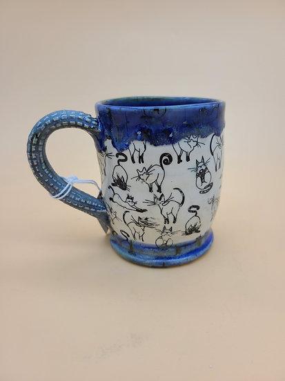 """Check """"Meowt"""" Mug"""