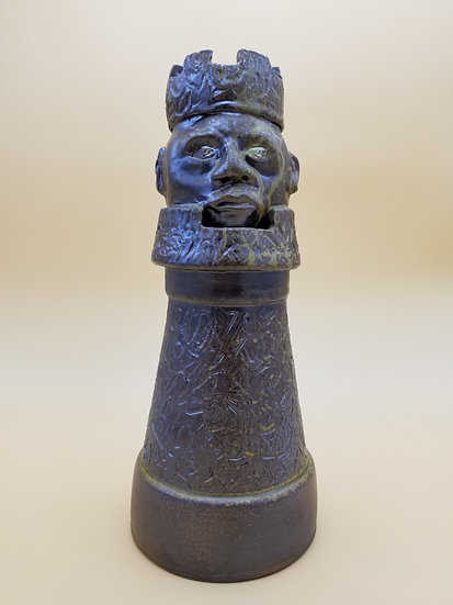 B Taft Large Rook Chess Piece