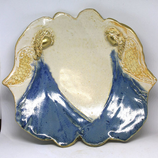 B Pullon Angel Twins Plate