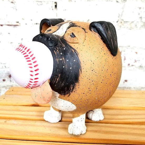 Boxer Pup Piggy Bank
