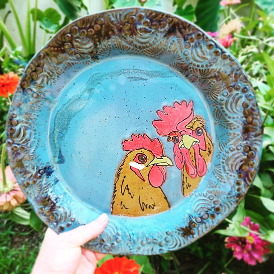 Hen & Rooster Platter