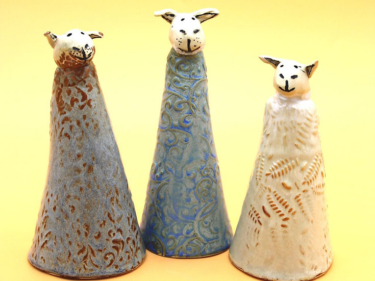 S O'Neal Lamb Fence Post Topper